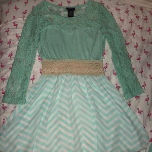 Rue 21 teal dress. Size Xsmall brand new.